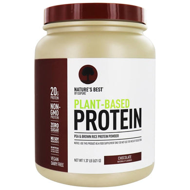 Isopure, Nature's Best, Plant-Based Protein