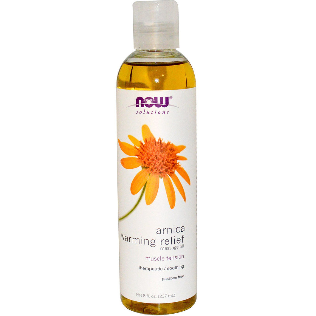 now solutions arnica warming relief muscle tension