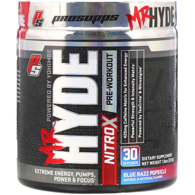 PROSUPPS, Mr. Hyde Nitro X Pre-workout