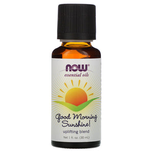 Now Foods, Essential Oils, Good Morning Sunshine, Uplifting Blend