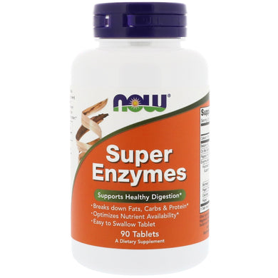 super enzymes now food 90 tablets