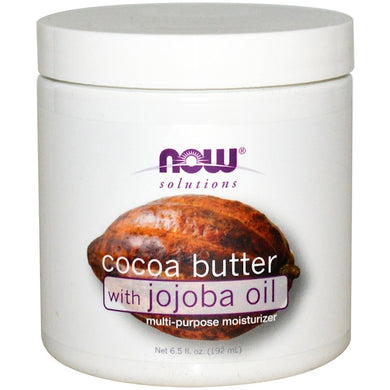 cocoa butter with jojoba oil now food