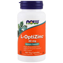 Load image into Gallery viewer, L-Optizinc(R) 30mg + Copper