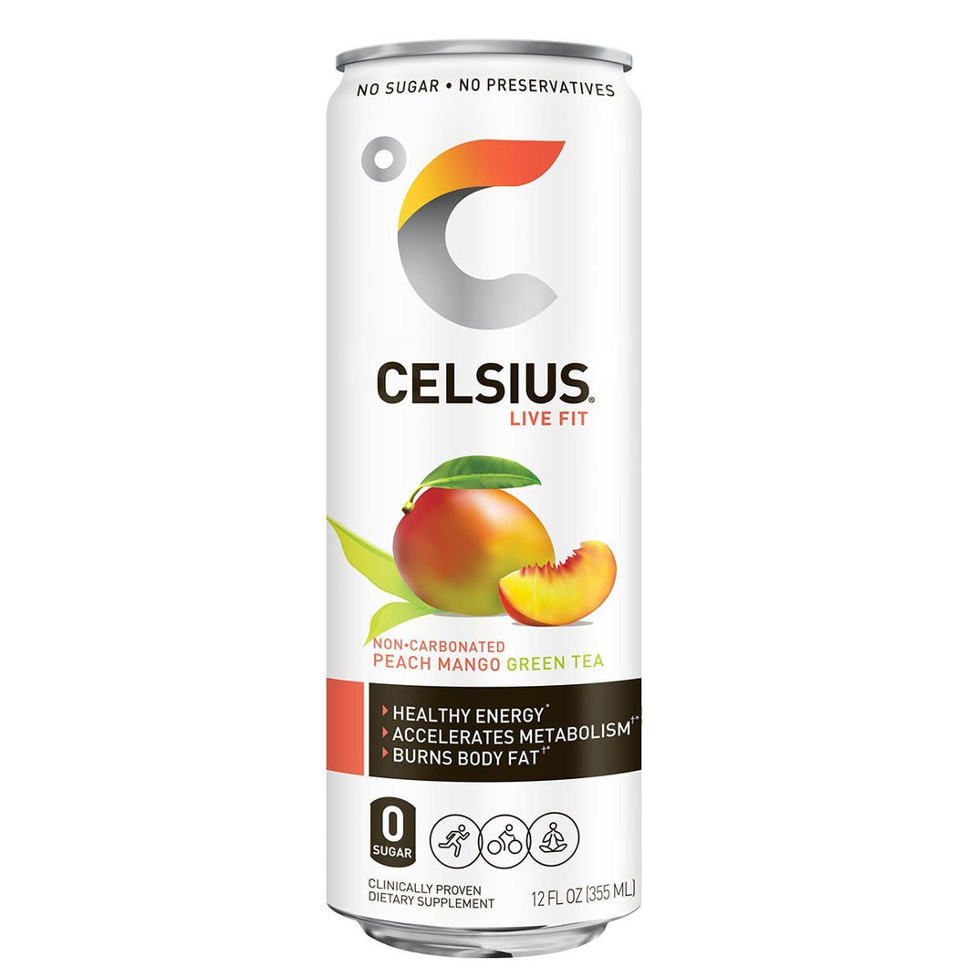 Celsius Peach Mango