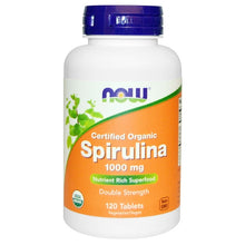 Load image into Gallery viewer, organic spirulina 1000 mg 120 tablets