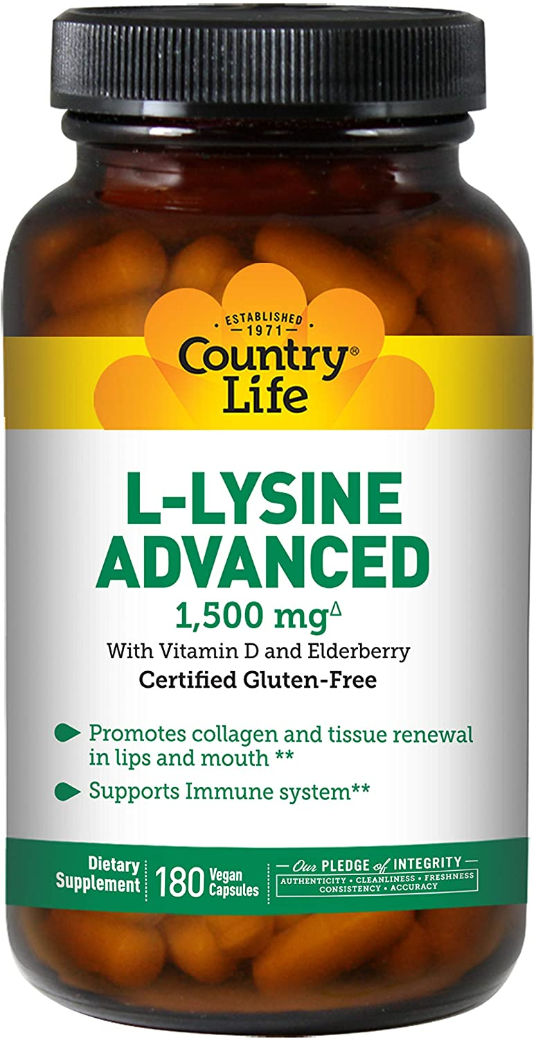 CountryLife, L-Lysine Advanced
