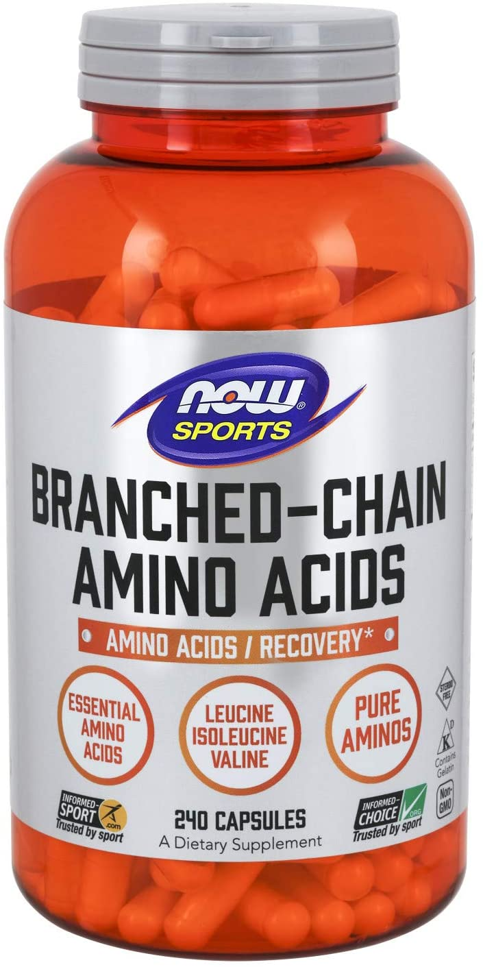 Branched Chain Amino Acids 240 caps