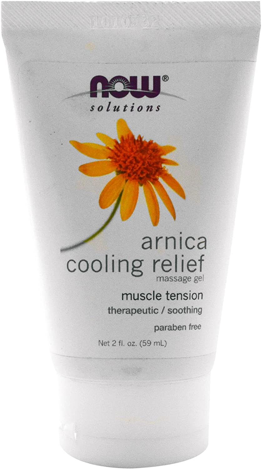 now solutions arnica cooling relief muscle tension