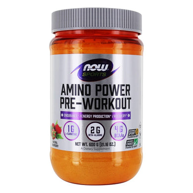 Now Sports, Amino Power Pre-Workout