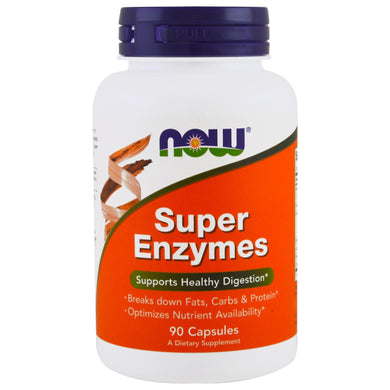 super enzymes now food 90 capsules