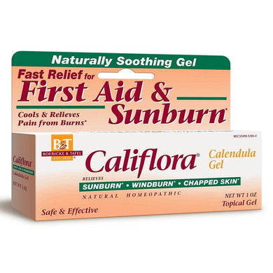soothing gel fast relief first air and sunburn califlora