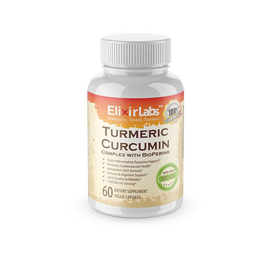 Turmeric Curcumin Bottle
