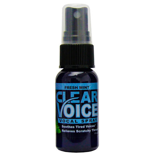 Clear Voice Spray fresh mint