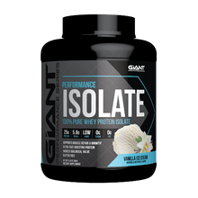 Load image into Gallery viewer, Giant Sports International, Performance Isolate Protein Powder