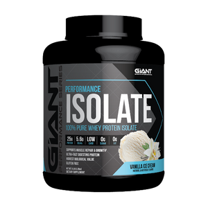 Giant Sports International, Performance Isolate Protein Powder