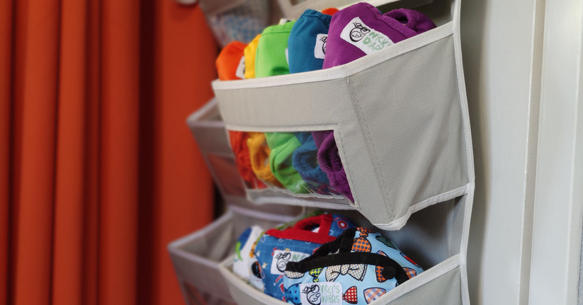 Cloth Diapers in Storage