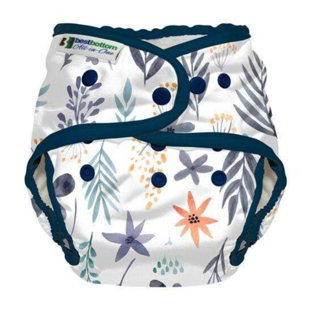 Best Bottom One Size All in One Cloth Diapers