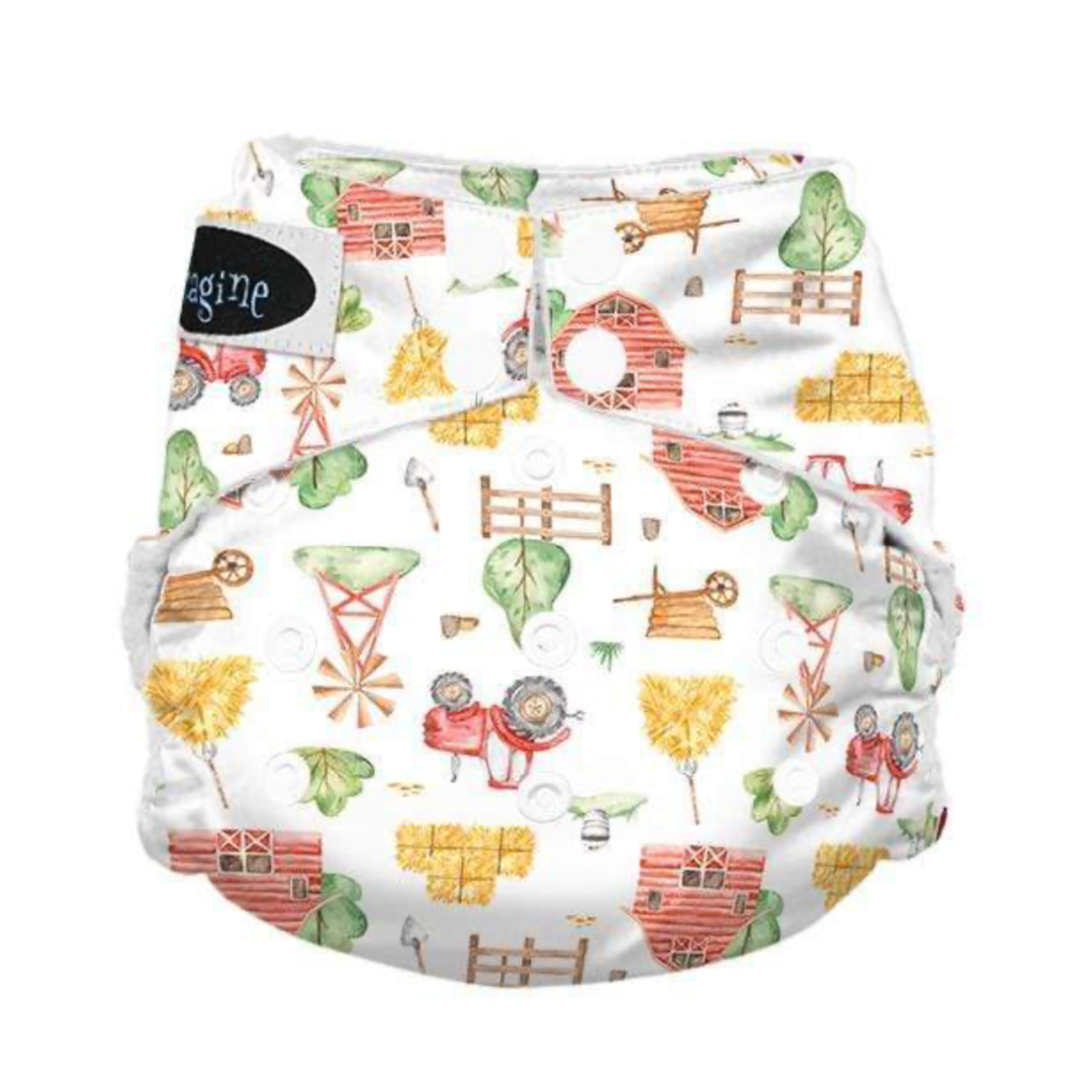 Imagine One Size All in One Cloth Diapers