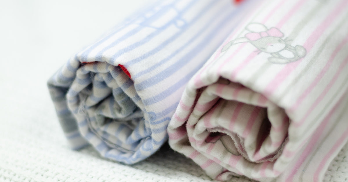 blankets as cloth diapers