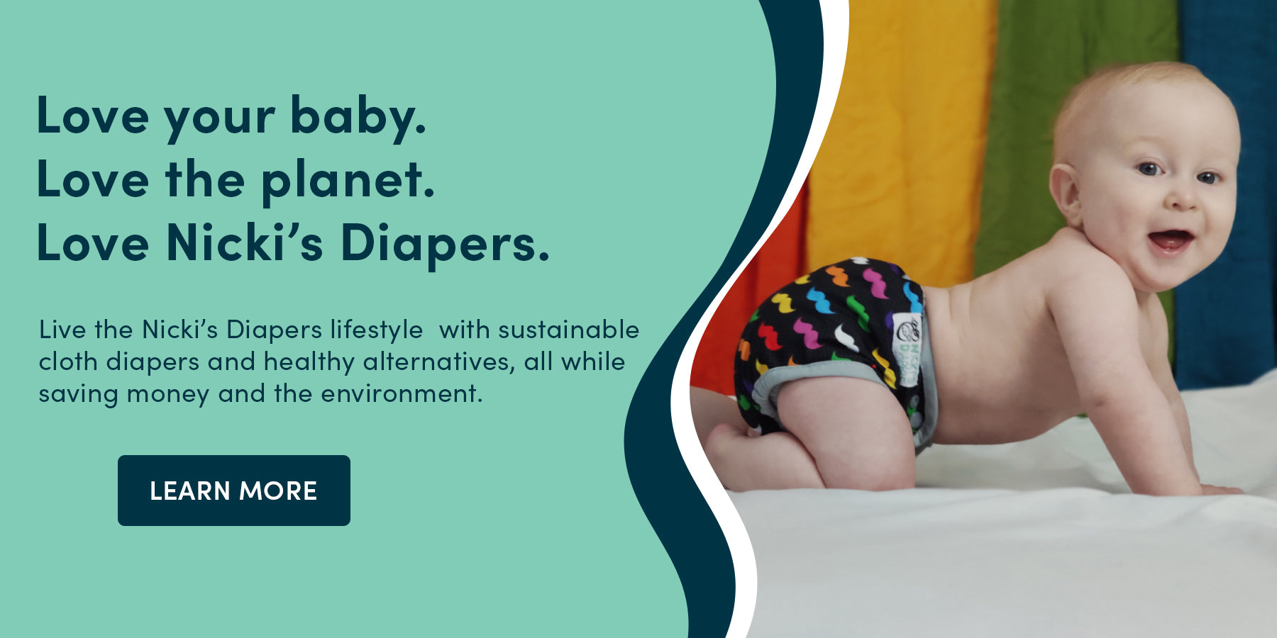 Save the World with Cloth Diapers on Sale from Nicki's Diapers now! Don't miss out on celebrating Earth Day with cloth diapering