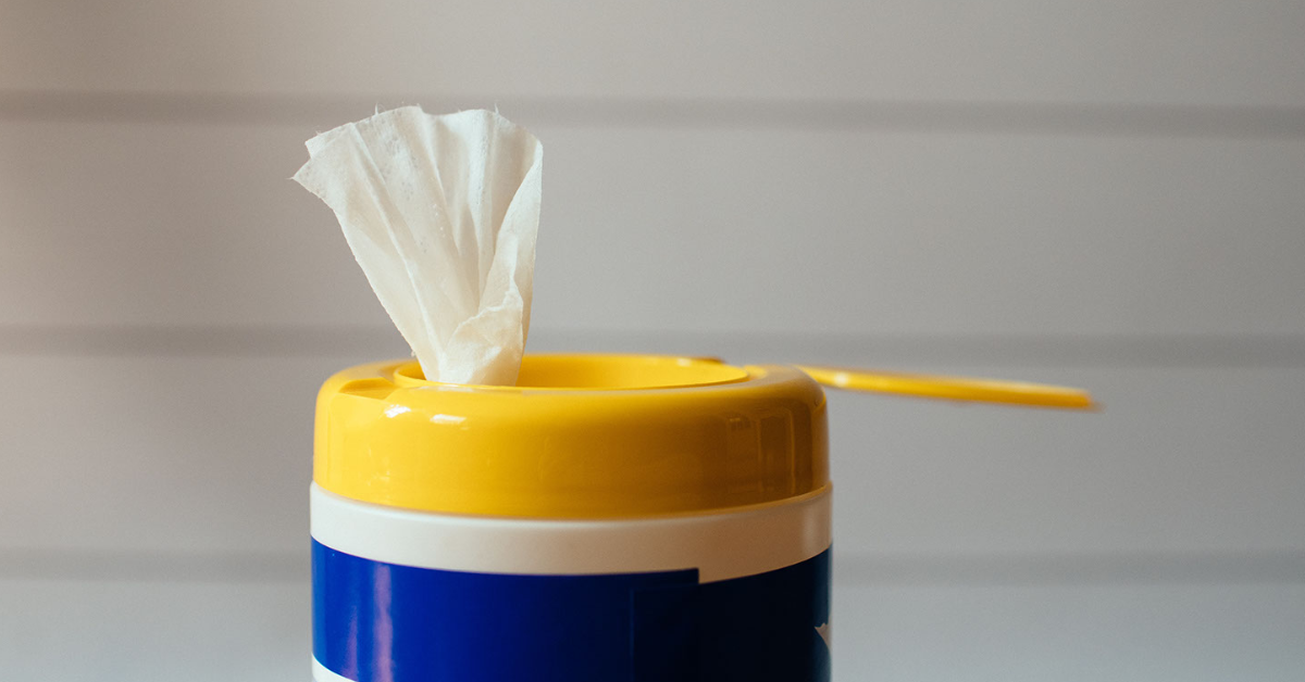 Avoiding single use products, such as paper, is a great way to cut down on waste