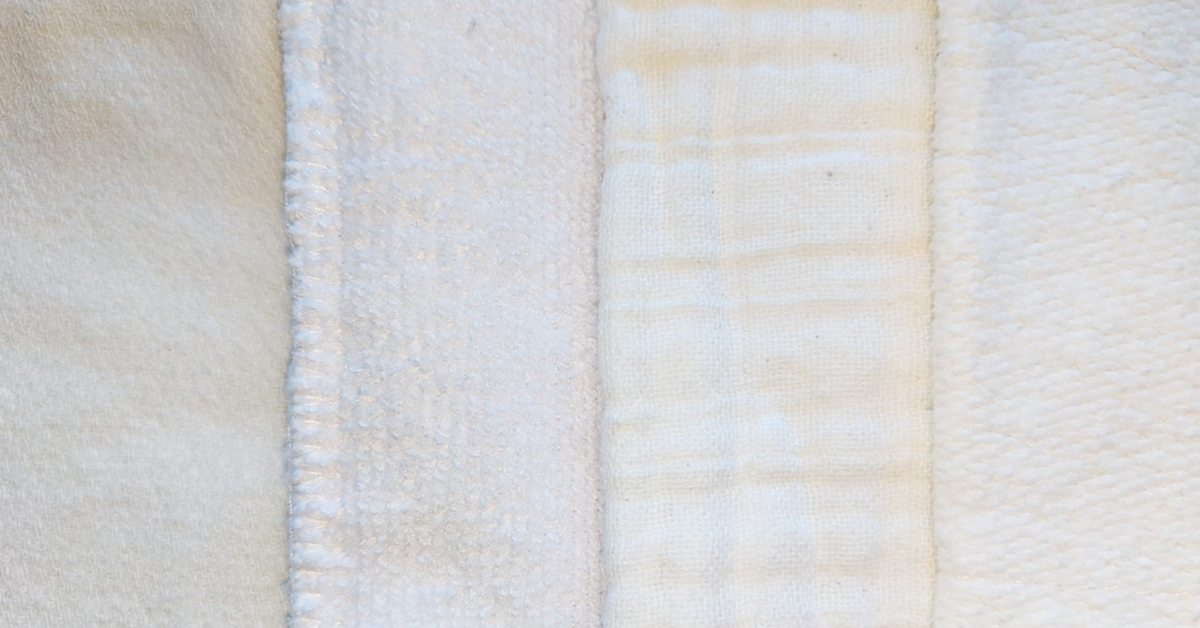 Cloth Diaper Fabrics and Absorbency