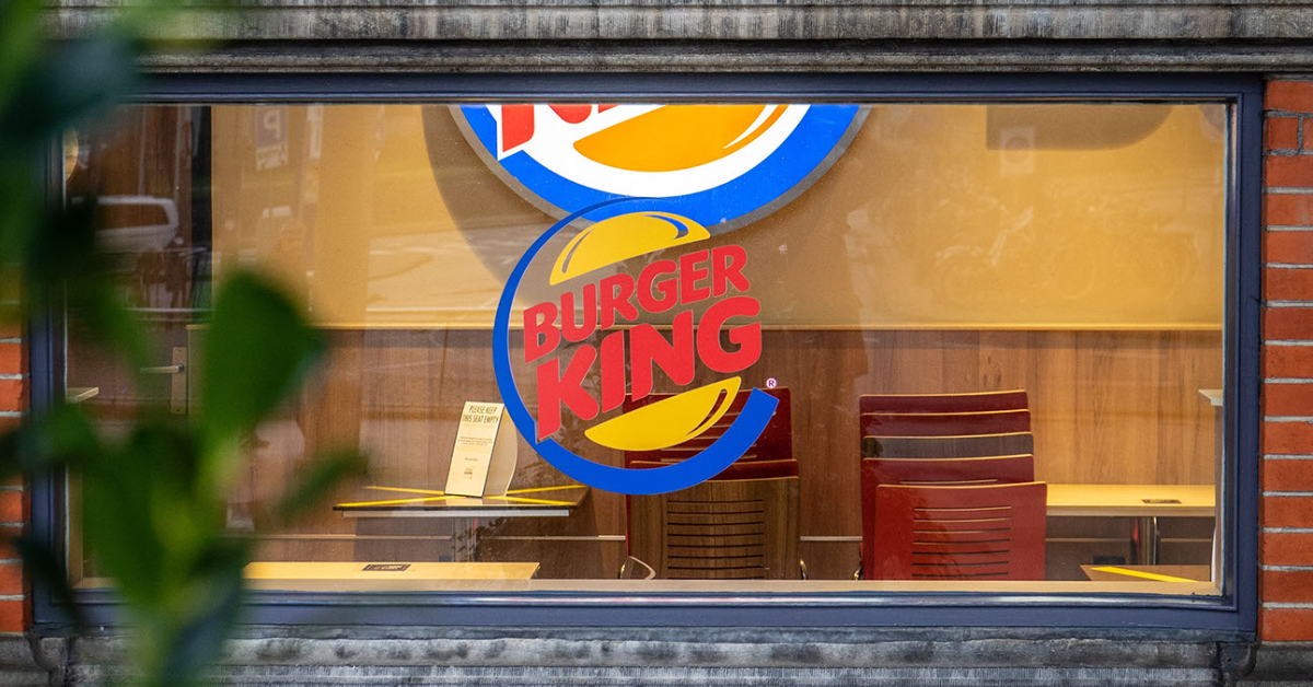 Healthy Burger King for Kids