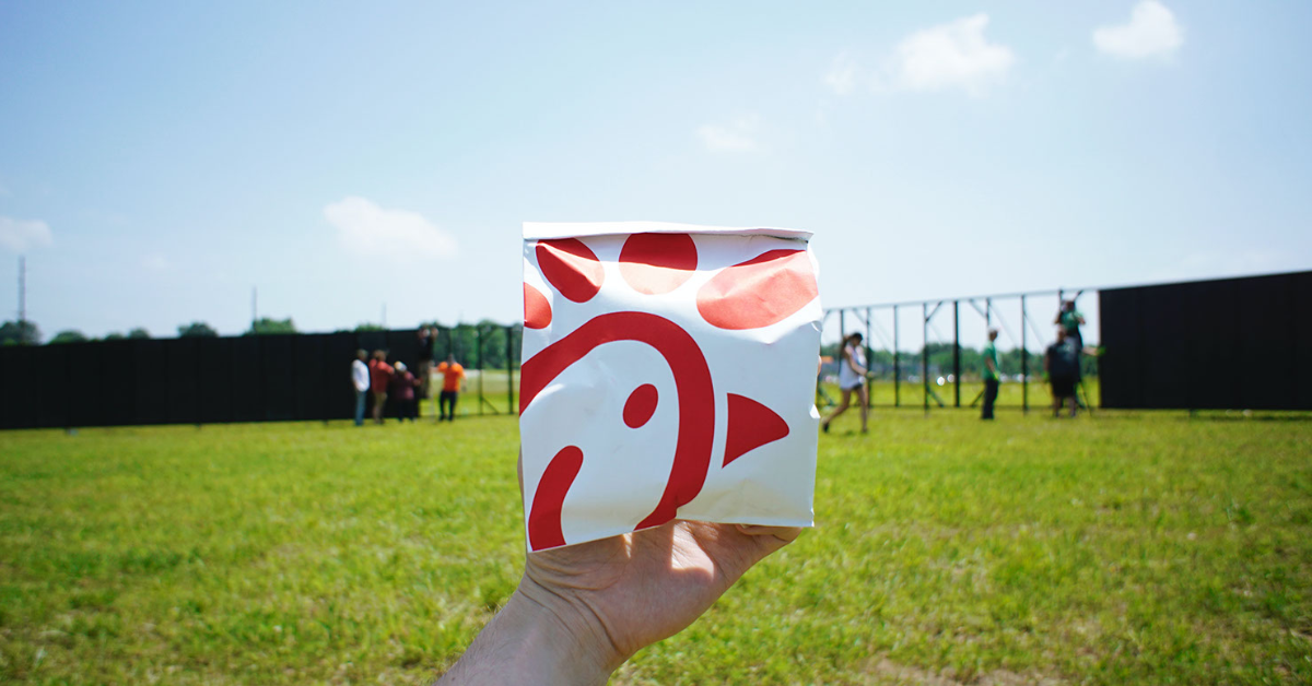 Healthy Chic-fil-a for kids
