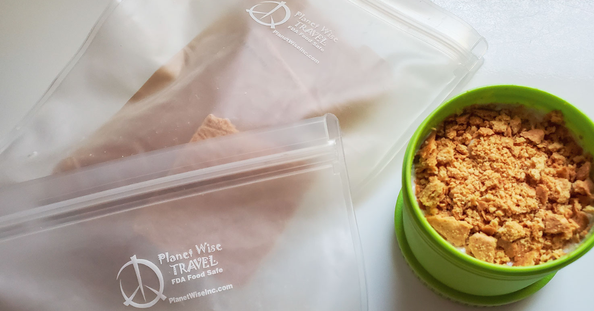 Clear Sustainable Food Storage