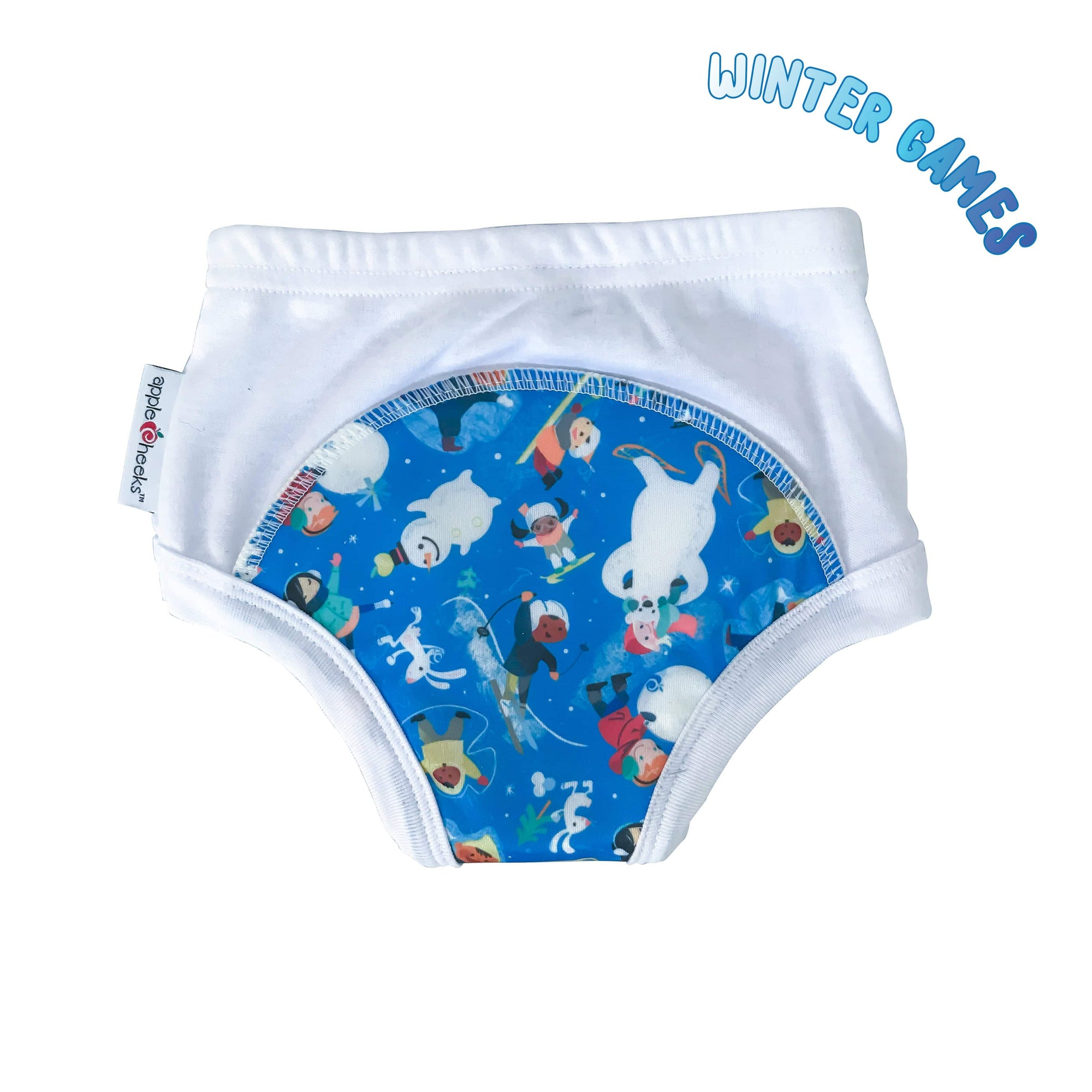 AppleCheeks Learning Pants Redesigned - Winter Games S