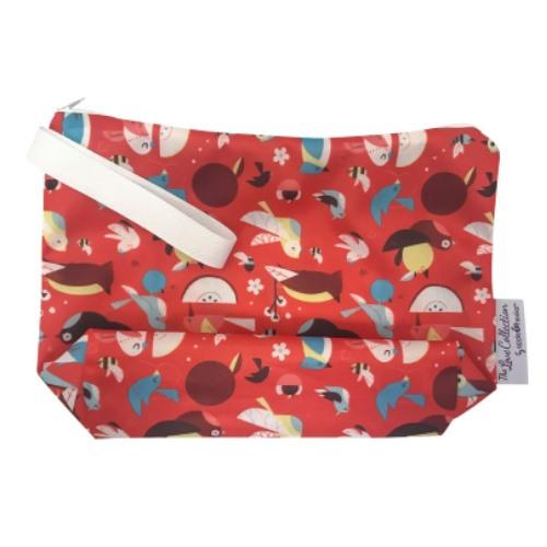 AppleCheeks MegaZip Wet Bag - Cardinal Rule