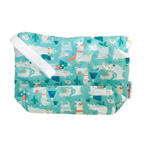 AppleCheeks MegaZip Wet Bag - Llama Nation