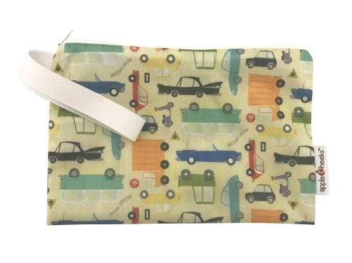 AppleCheeks MiniZip Wet Bag - Who Cars?