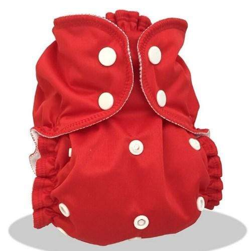 AppleCheeks One Size Envelope Diaper Cover - Cherry Tomato