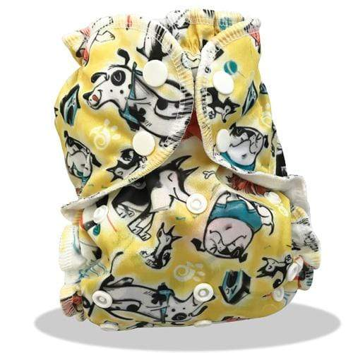 AppleCheeks One Size Envelope Diaper Cover - So Fetch