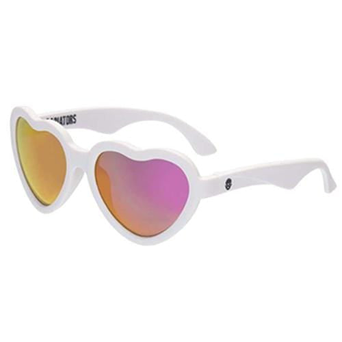 Babiators The Sweetheart 3-5 years - Wicked White - Mirror Lenses