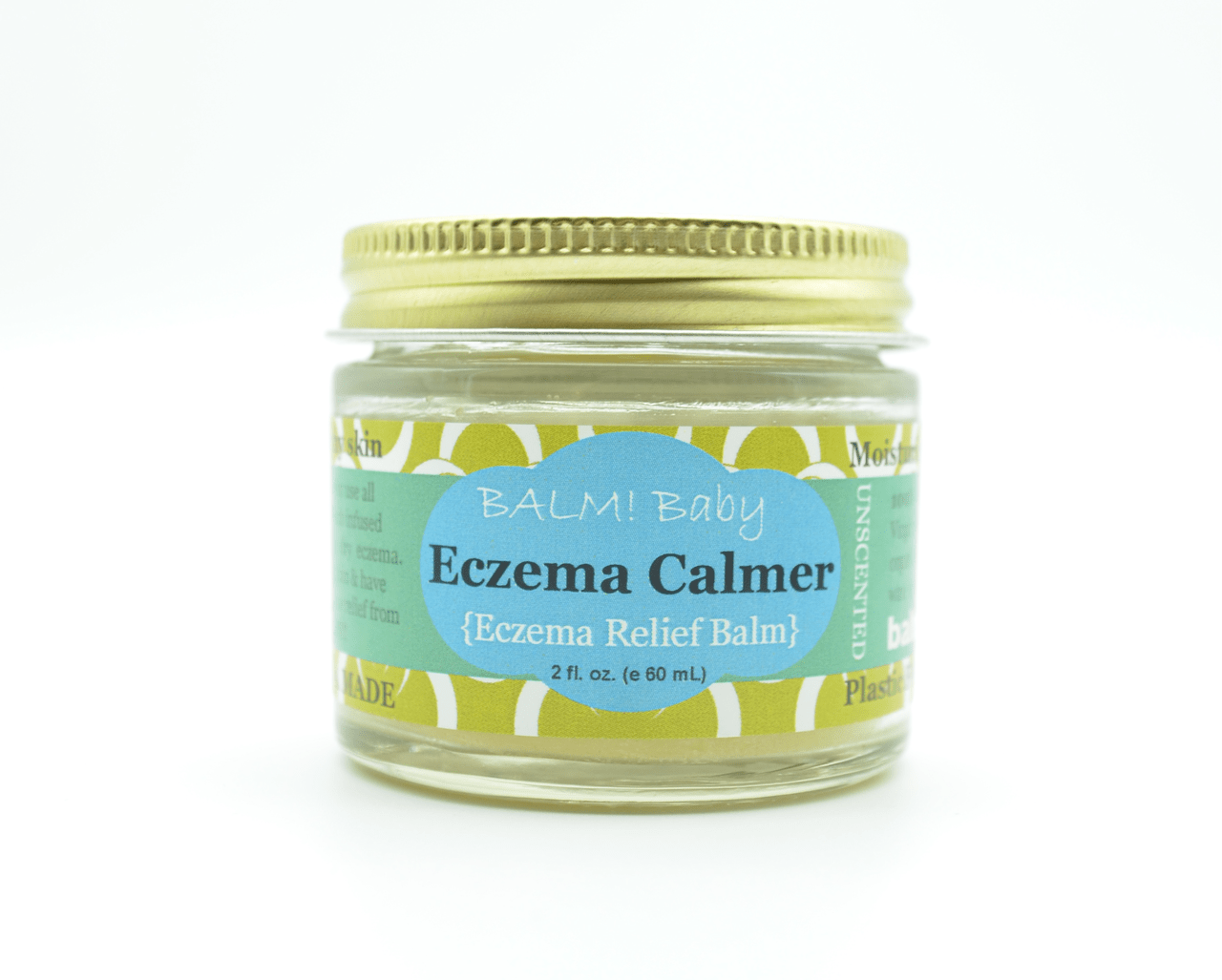 Balm! Baby Ezcema Calmer 2 oz Body Butter - Unscented