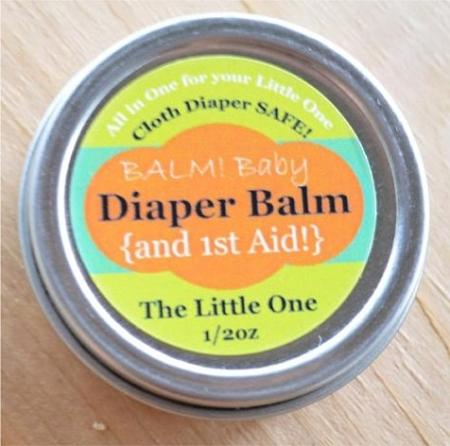 Balm! Baby Mad Rash Tin 1/2 oz Diaper Balm