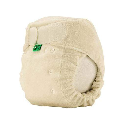 Bamboozle Stretch Fitted Diaper - Natural Size 1