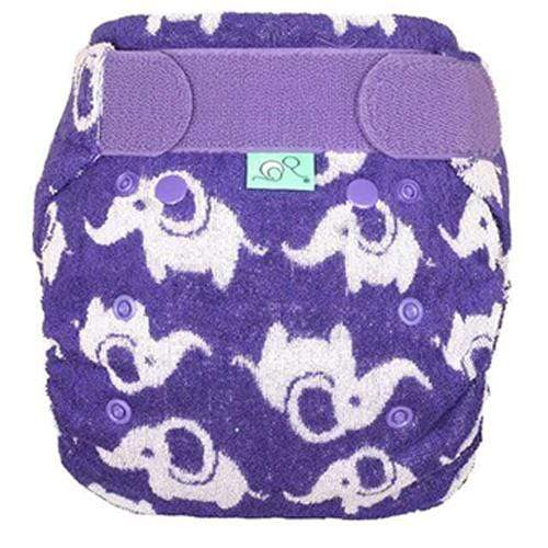 Bamboozle Stretch Fitted Diaper - Smelliphant