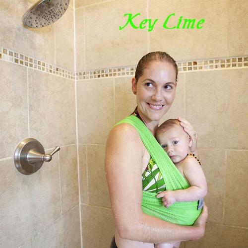 Beachfront Baby Water Wrap Carrier - Key Lime XL