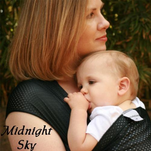 Beachfront Baby Water Wrap Carrier - Midnight Sky