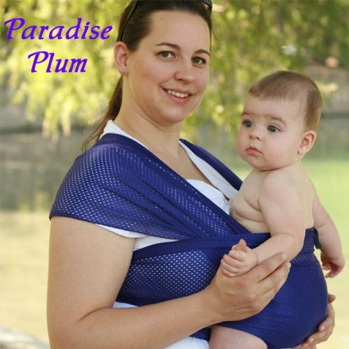 Beachfront Baby Water Wrap Carrier - Paradise Plum