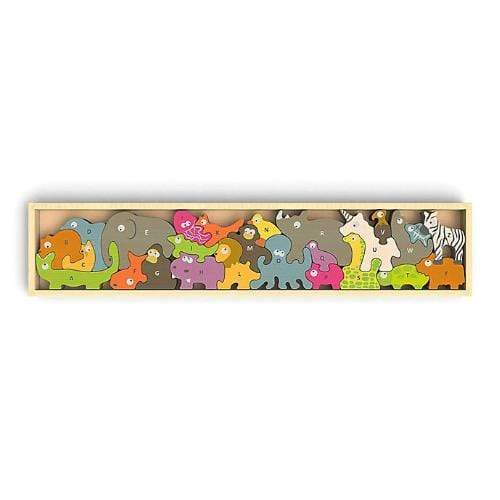Begin Again Toys A to Z Puzzle - Animal Parade