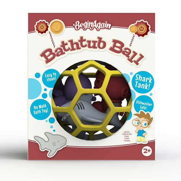 Begin Again Toys Shark Bathtub Ball