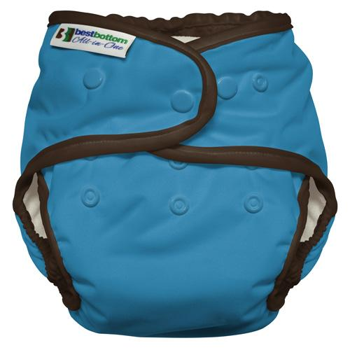 Best Bottom All In One Diaper - Cookie Monster