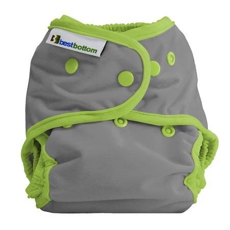 Best Bottom All In Two Diaper Cover - Dragonfly Ripple One Size