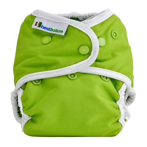 Best Bottom All In Two Diaper Cover - Key Lime Pie One Size