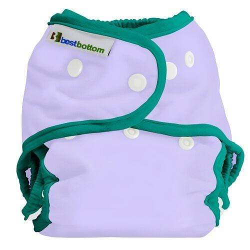 Best Bottom All In Two Diaper Cover - Lilac Coast