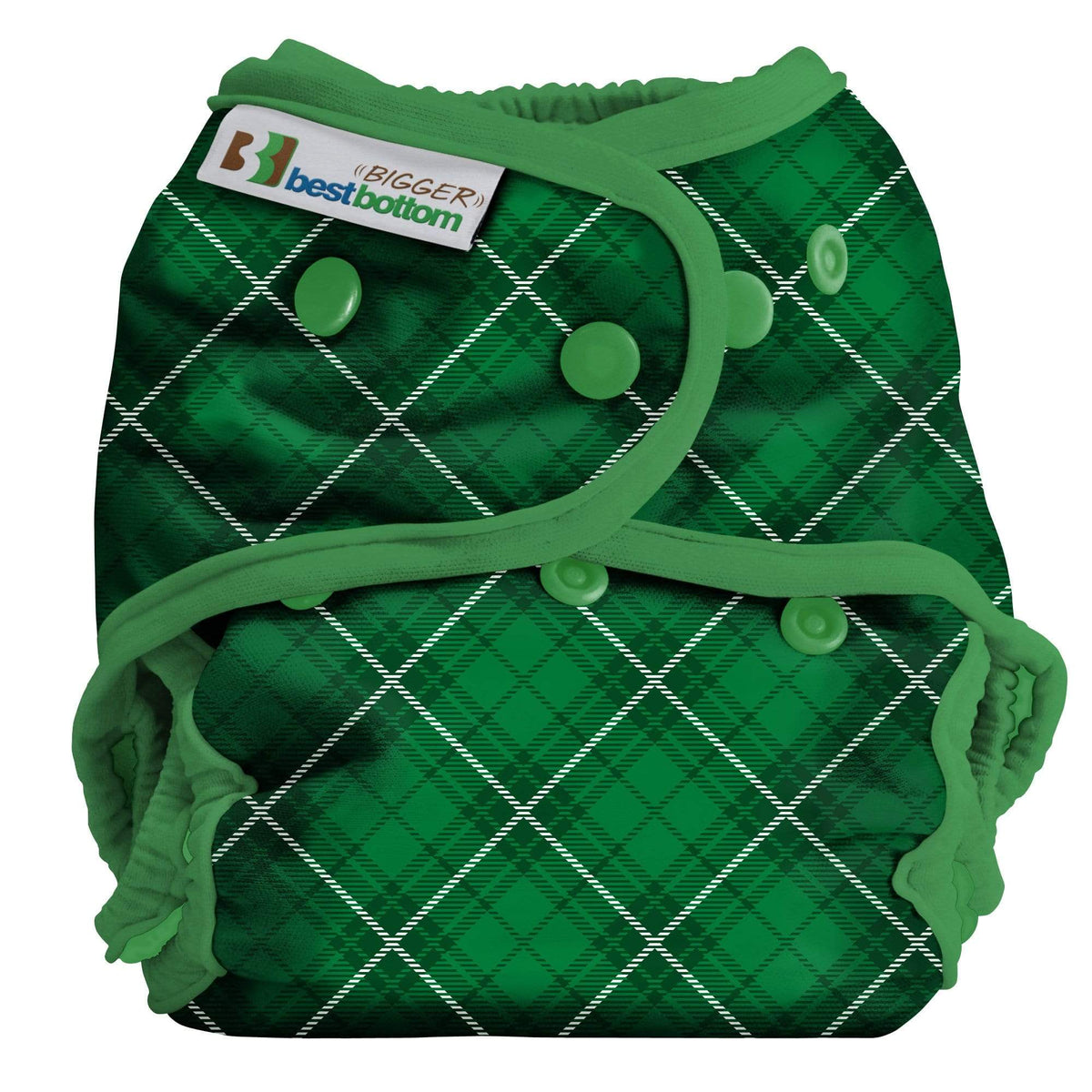 Best Bottom All In Two Diaper Cover - Paddy Plaid